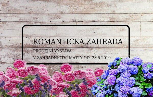Prodejní výstava: Romantická zahrada
